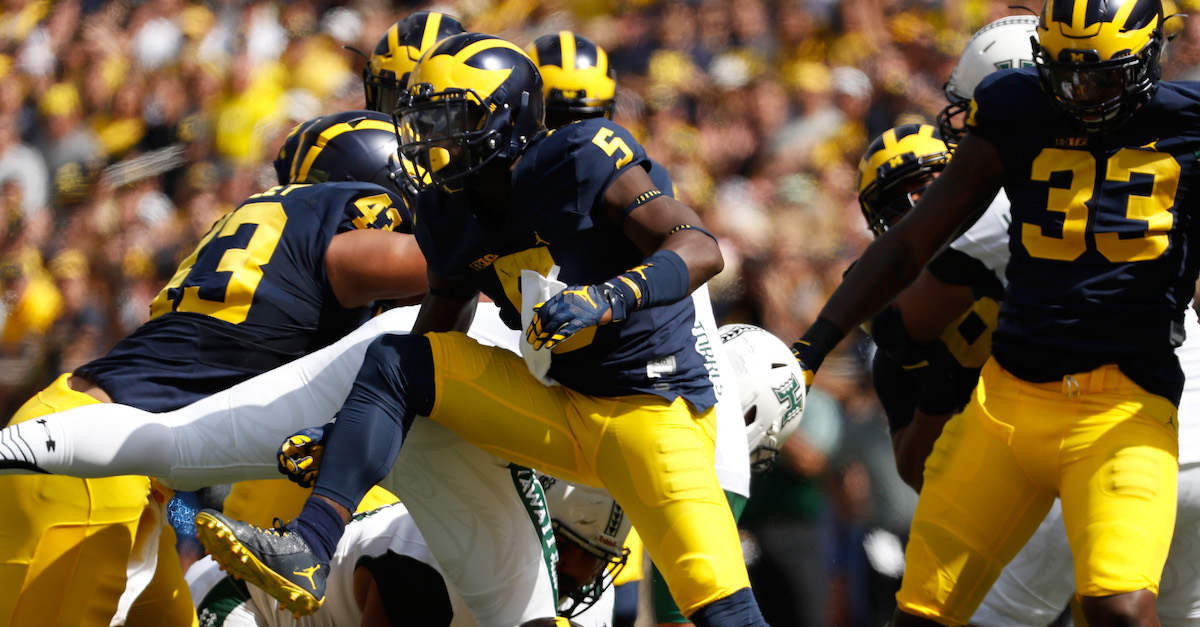 Charles Woodson compared Jabrill Peppers favorably to an All-Pro defensive back