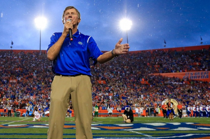 Steve Spurrier responds to rumors about his choice for Jim McElwain replacement