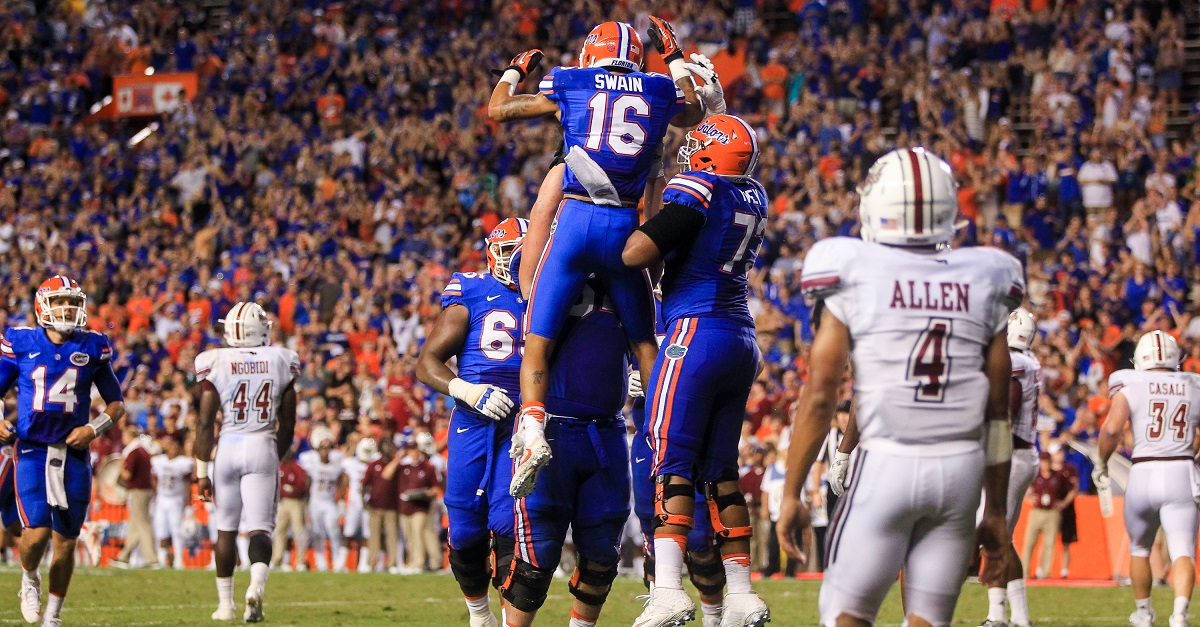 This stat explains why Florida looked so rough against UMass