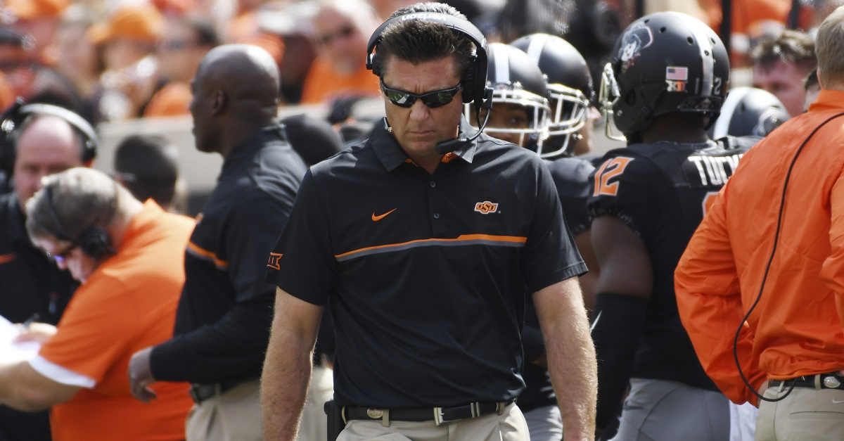 Mike Gundy escalates CMU situation, says he will no longer play games without this condition