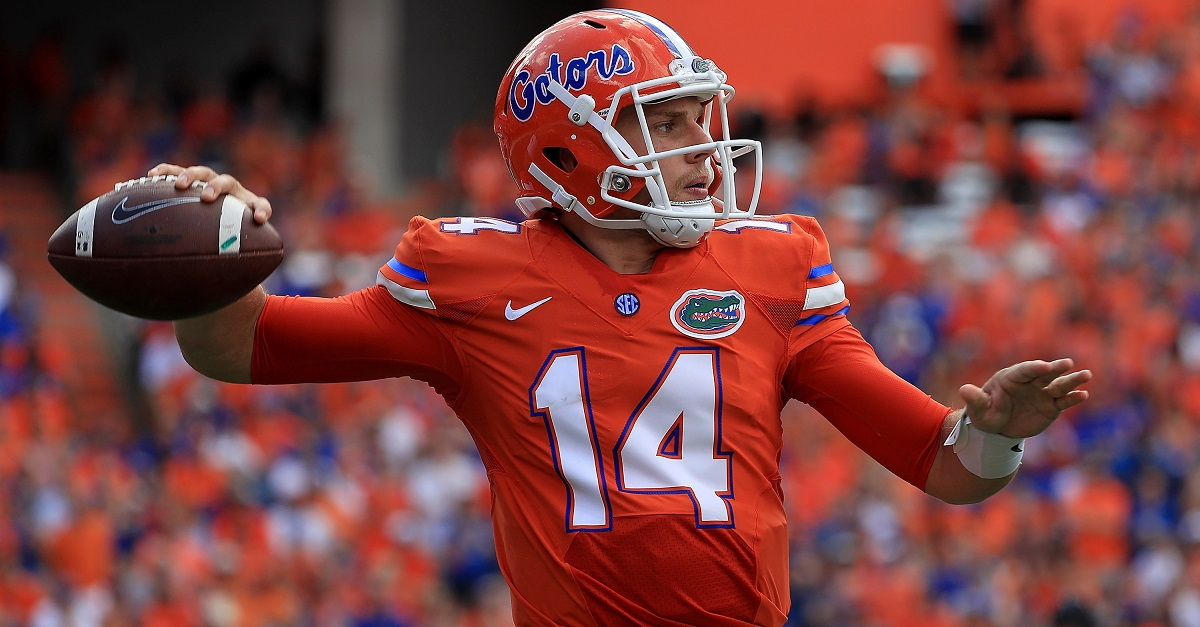 Florida gets devastating news on quarterback Luke Del Rio