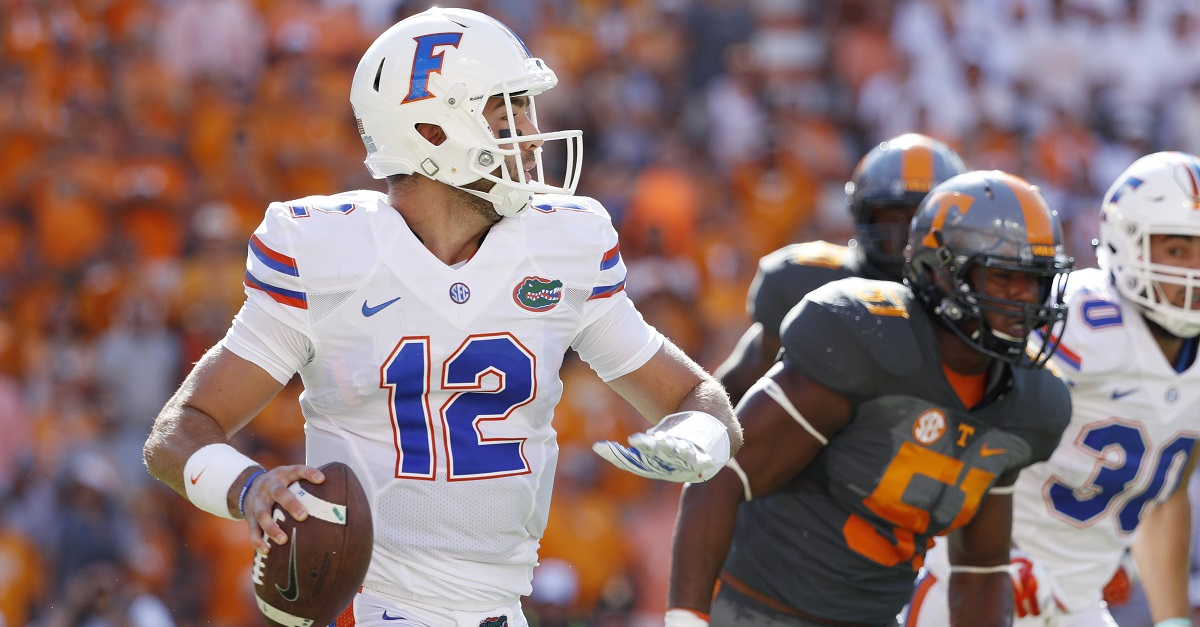 With new starter against South Carolina, Florida continues dubious QB streak