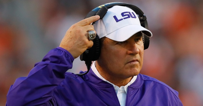 Les Miles is getting desperate, may take one job to work his way back to the top