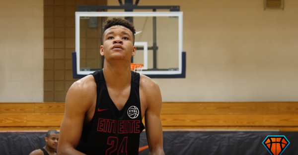 Five-star wing Kevin Knox has his top five schools with one surprise on the list