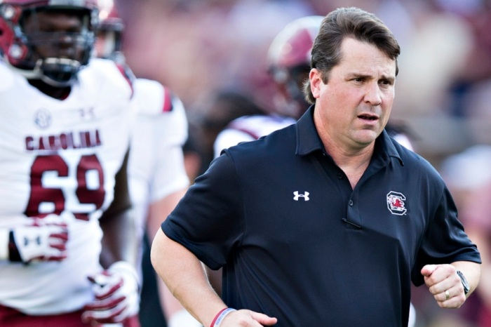 Will Muschamp has one promise the rest of college football is still laughing about
