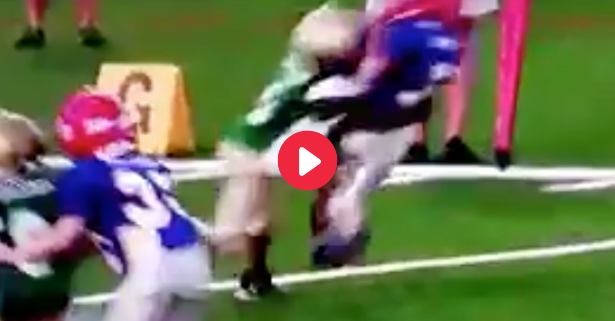 This Monster Hit Will Make You Rethink Pee Wee Football for Your Kids