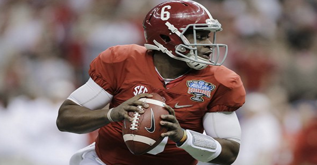 Former Bama QB Blake Sims signs with NFL team