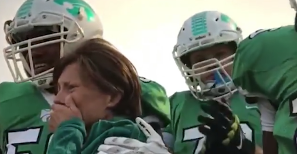 How a boy with Down syndrome, a mother with bone cancer and football stole the weekend
