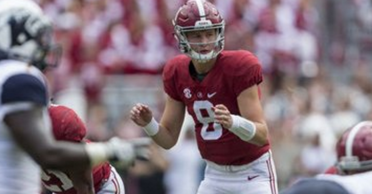 Saban talks about 'never quitting a team' in wake of Barnett transfer