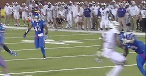 SMU player ejected following dirty off-the-ball targeting hit