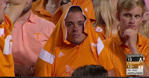 Tennessee survives embarrassing near-upset after botched App. State playcall
