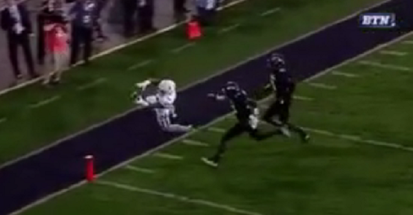 This Nebraska running back had a sure TD, until he had a bad case of the drops