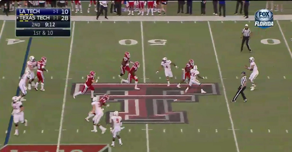 Texas Tech pulled off the craziest trick play of the year that included four ball exchanges