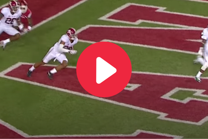 Minkah Fitzpatrick's Historic 109-Yard Pick-Six Buried Arkansas