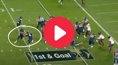 Lineman's End-Around Trick Play Created a 300-Pound RB