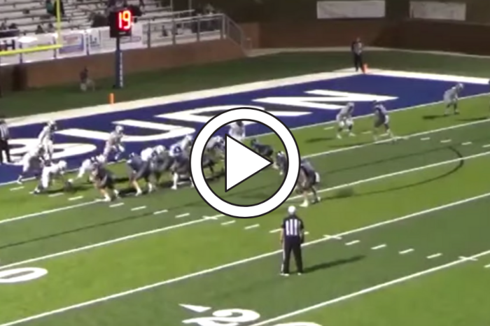 "High School Player ""Faints"" to Distract Defense for Perfect Trick Play"