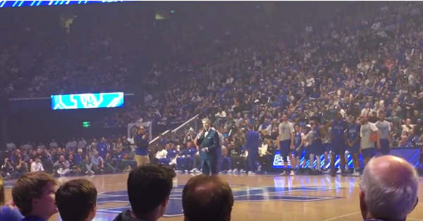 Kentucky's Big Blue Madness featured one of the greatest announcers in the business
