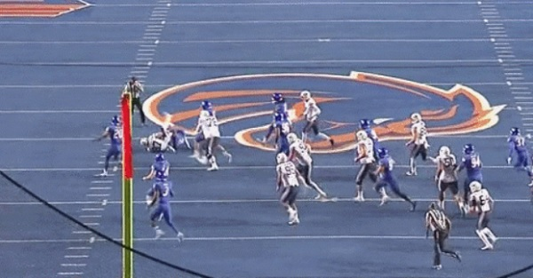 Boise State stays undefeated after crazy final two plays vs. BYU