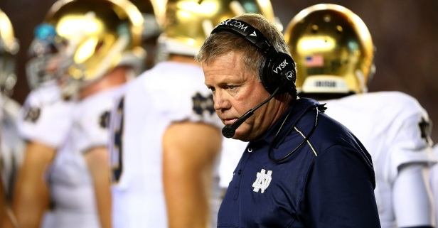 Notre Dame being forced to vacate wins has dramatically shifted college football's all-time wins list