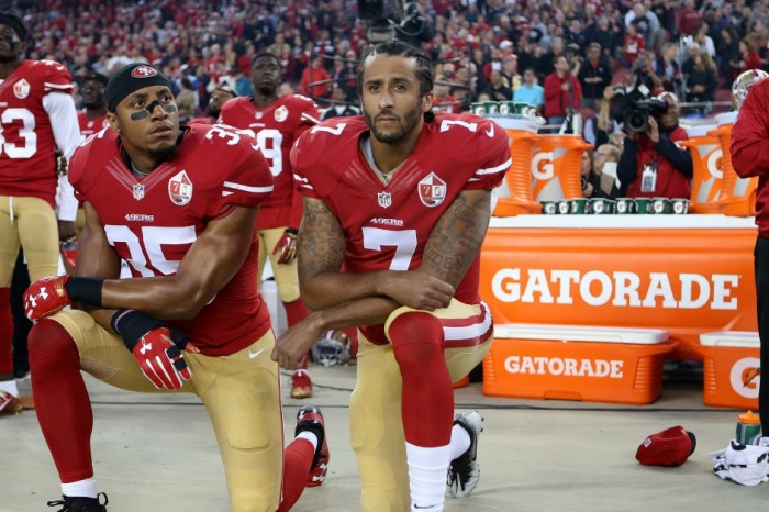 Colin Kaepernick has picked up support from a very interesting source