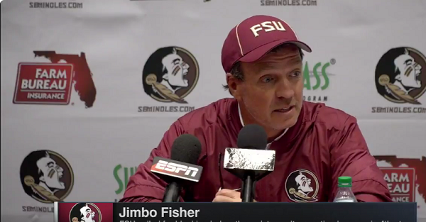 Jimbo Fisher unleashes incredible rant about officiating in the Clemson game