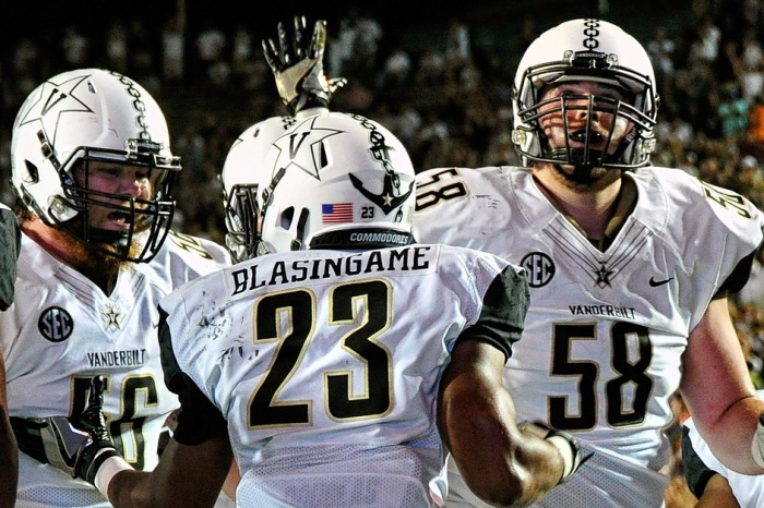 Vanderbilt's stadium is filled, just not with its own fans