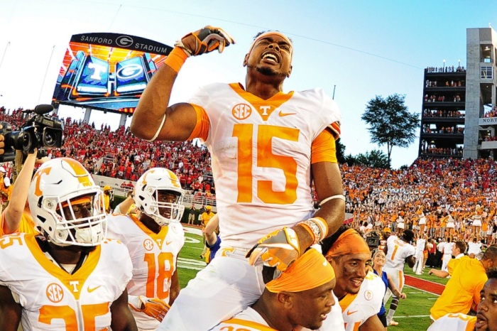 Former Tennessee WR Jauan Jennings reportedly meeting with new coach Jeremy Pruitt about rejoining the team