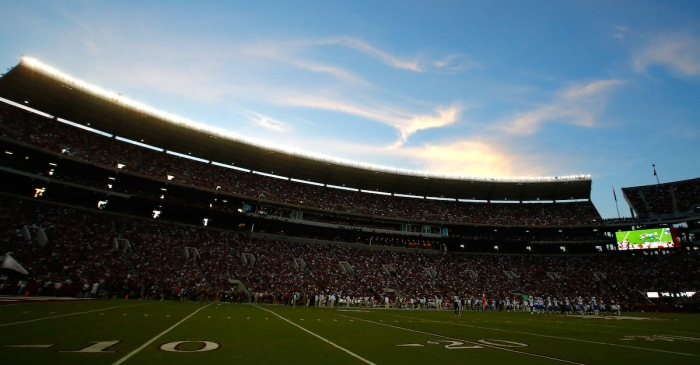 Despicable Alabama fans are reportedly throwing Skoal cans at ejected A&M player