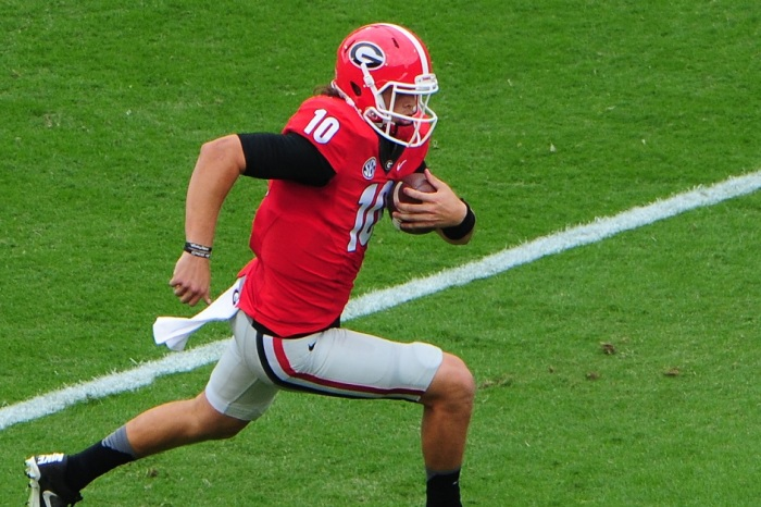Georgia will officially have a new starting QB against Notre Dame after Eason injury