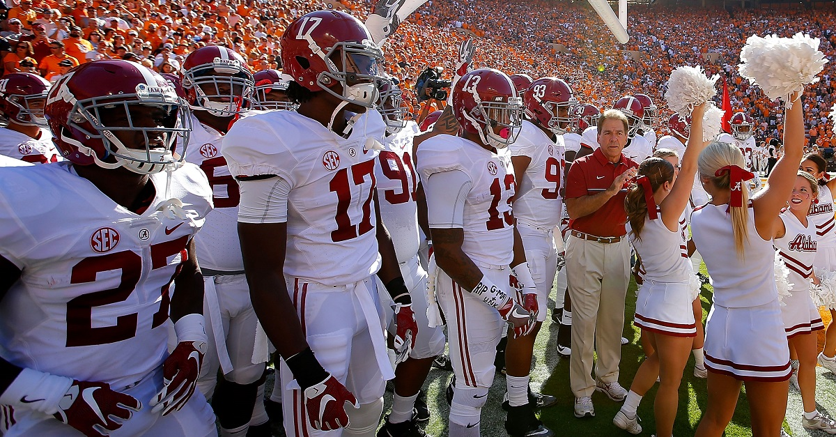 Alabama to lose another former starter to transfer
