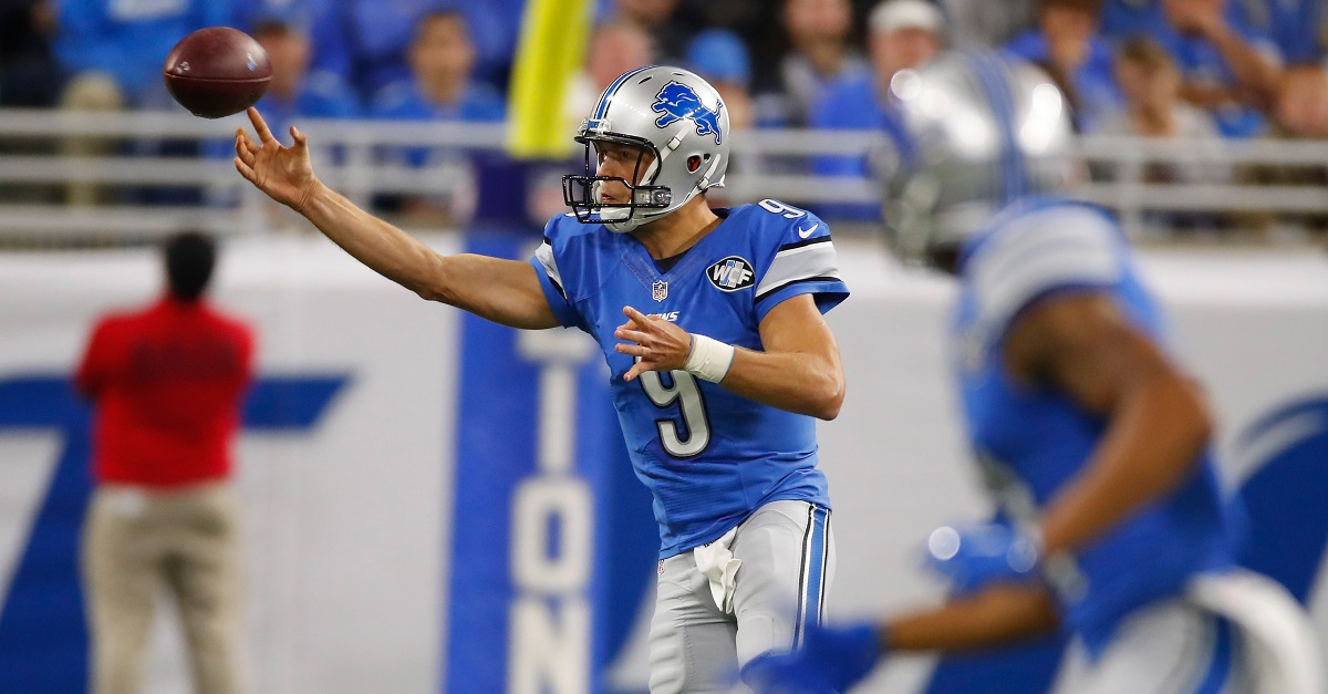 Matthew Stafford just became the highest paid player in NFL history
