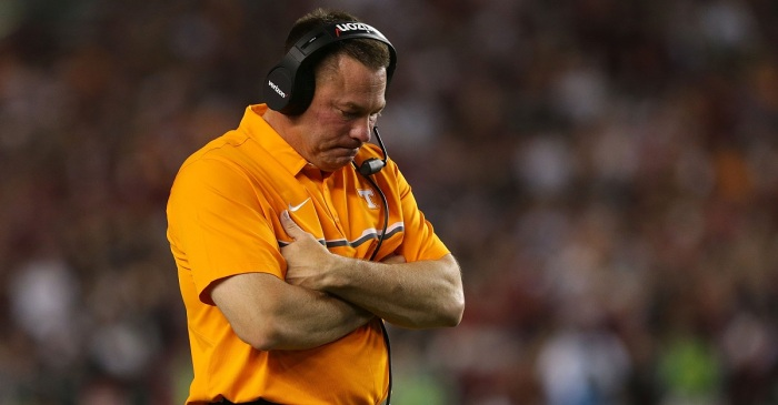 College football world is trashing Butch Jones' latest questionable decision