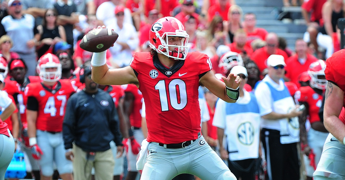 Kirby Smart's latest comments should have Jacob Eason on notice