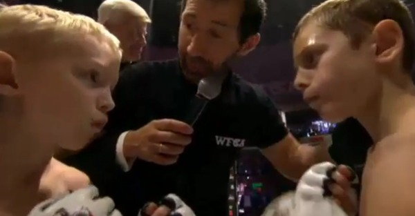 Why in the world are 8-year-old kids fighting in televised MMA bouts?