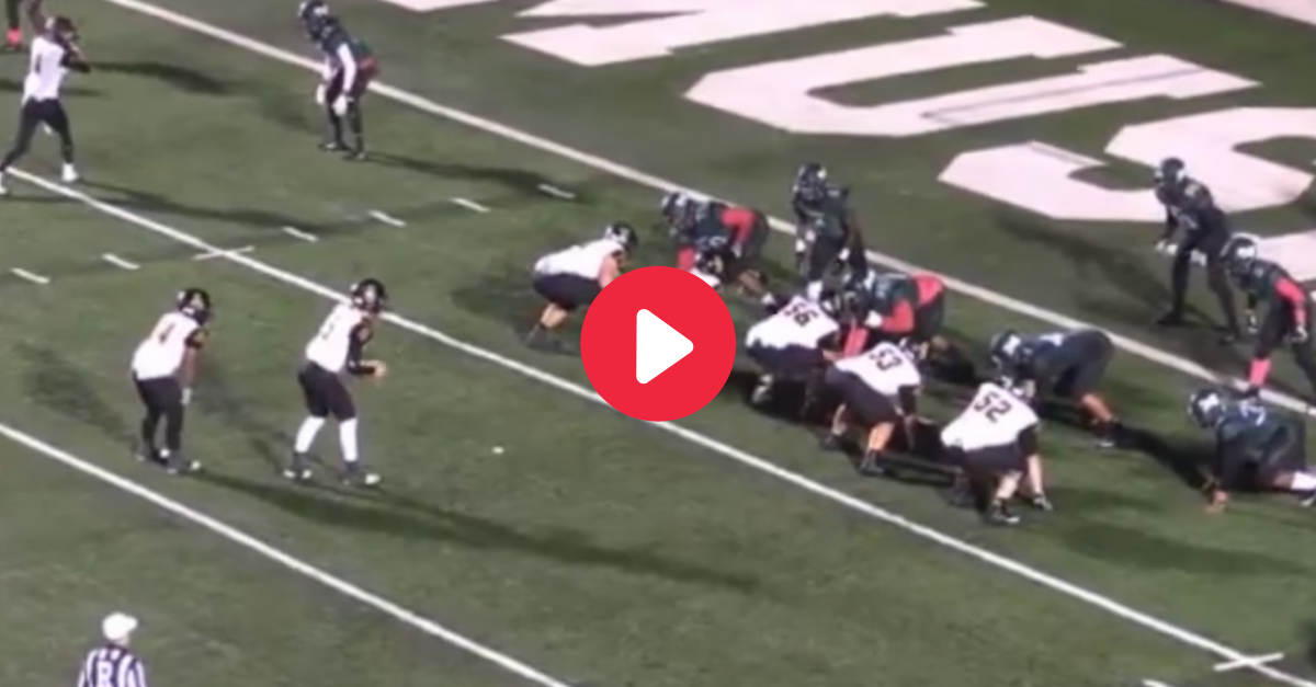 Watch the Most Bizarre Game-Winner You'll Ever See in Football