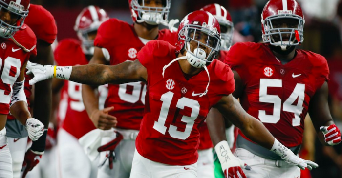 Saban updates status of key offensive players heading into Arkansas matchup