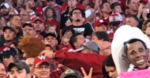 """Wisconsin acknowledges """"repugnant"""" costume after insensitive picture goes viral"""