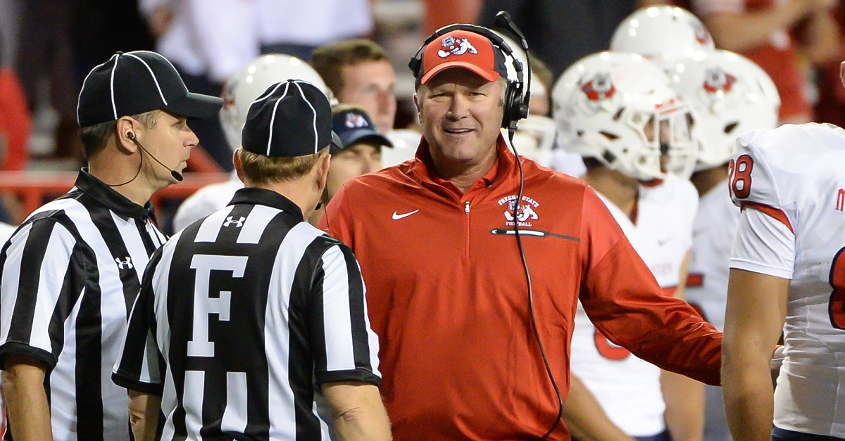 Fresno's head coach might have found out about his firing in the worst way possible
