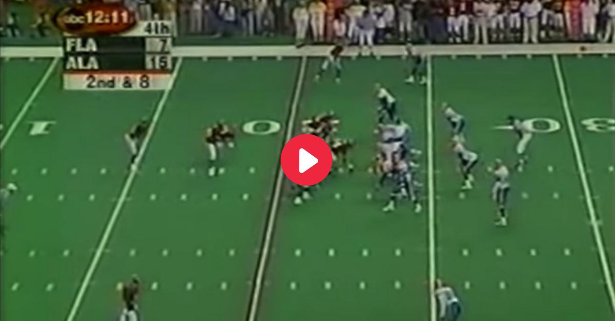 SEC Championship Runs to Game: Freddie Milons Alabama 1999