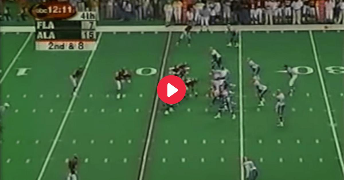 Tide Throwback: Freddie Milons Runs Alabama to 1999 SEC Title