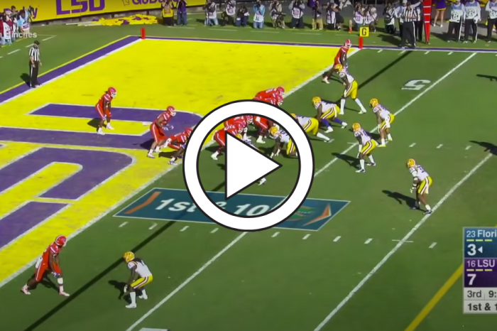 Tyrie Cleveland's 98-Yard Catch & Run Shredded LSU's Defense
