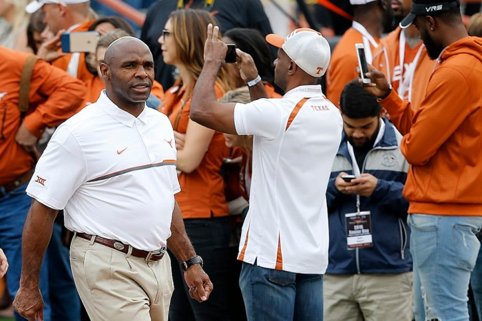 Report: Charlie Strong has been 'in discussion' with one school for head coaching job