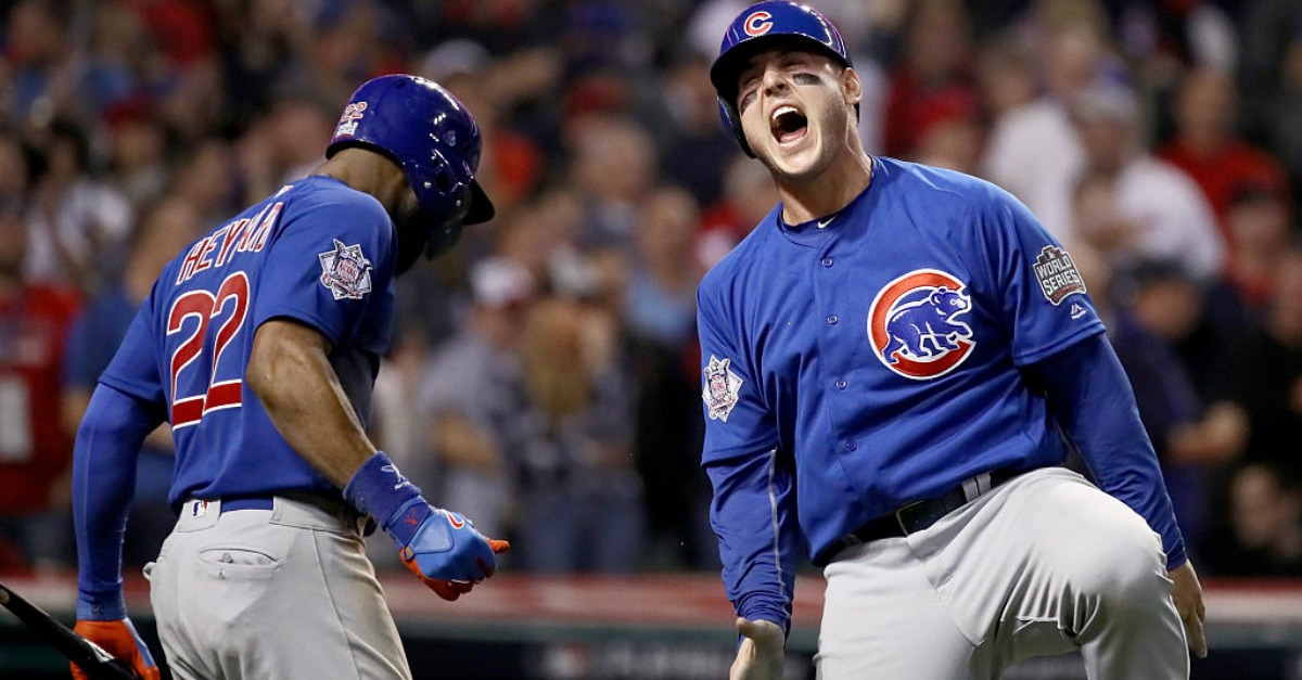 The curse of the Billy Goat is dead.  The Chicago Cubs win their first World Series in more than 100 years in classic fashion.
