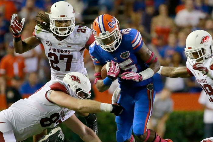 Saturday's game will be an all-time first for Florida in its SEC schedule