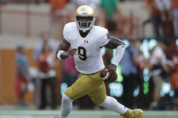 Notre Dame is blocking Malik Zaire from transferring to 11 schools