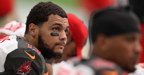 Mike Evans changes course and makes a surprising statement about his anthem protest
