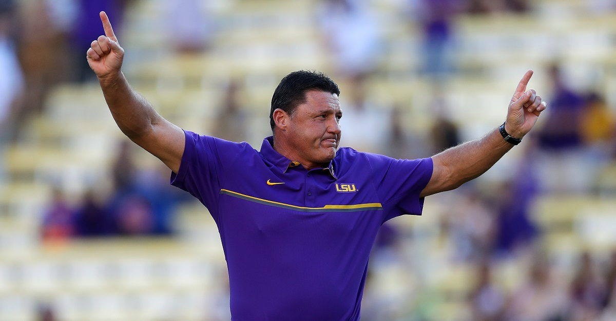 LSU buying out Ed Orgeron might be worse than any other option they have