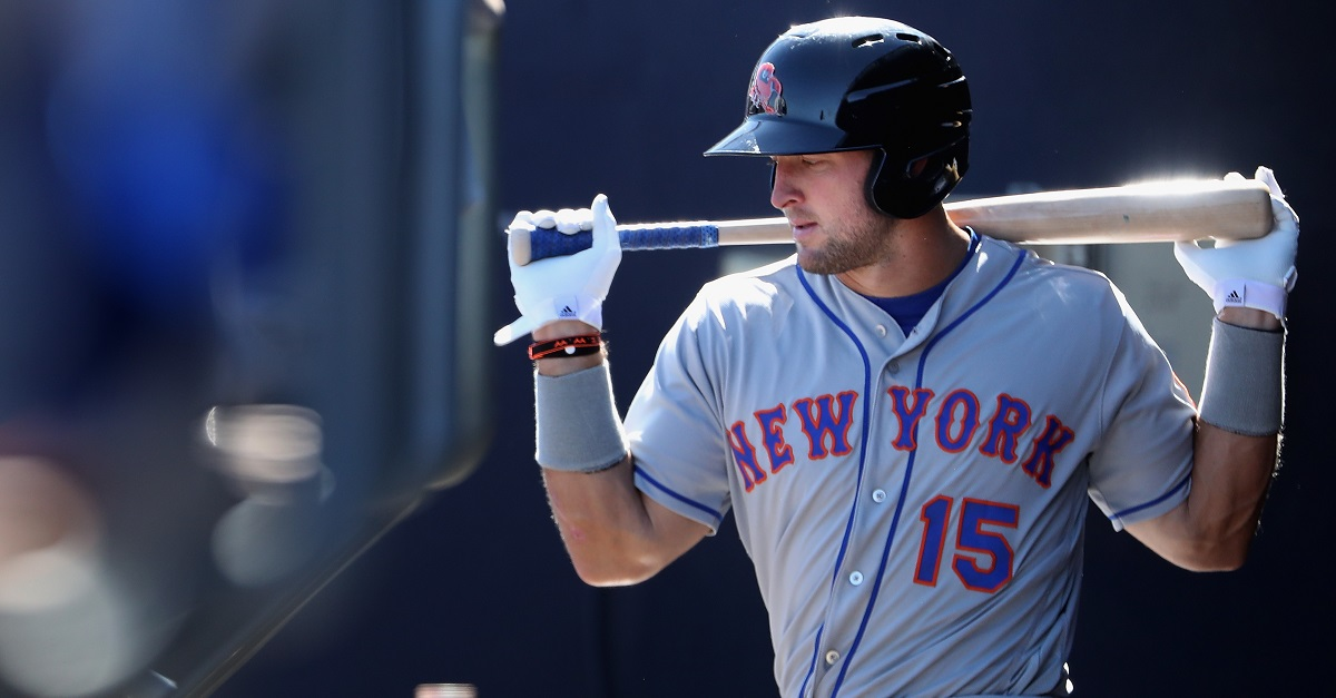 Mets GM gives Tim Tebow's baseball career the ultimate endorsement