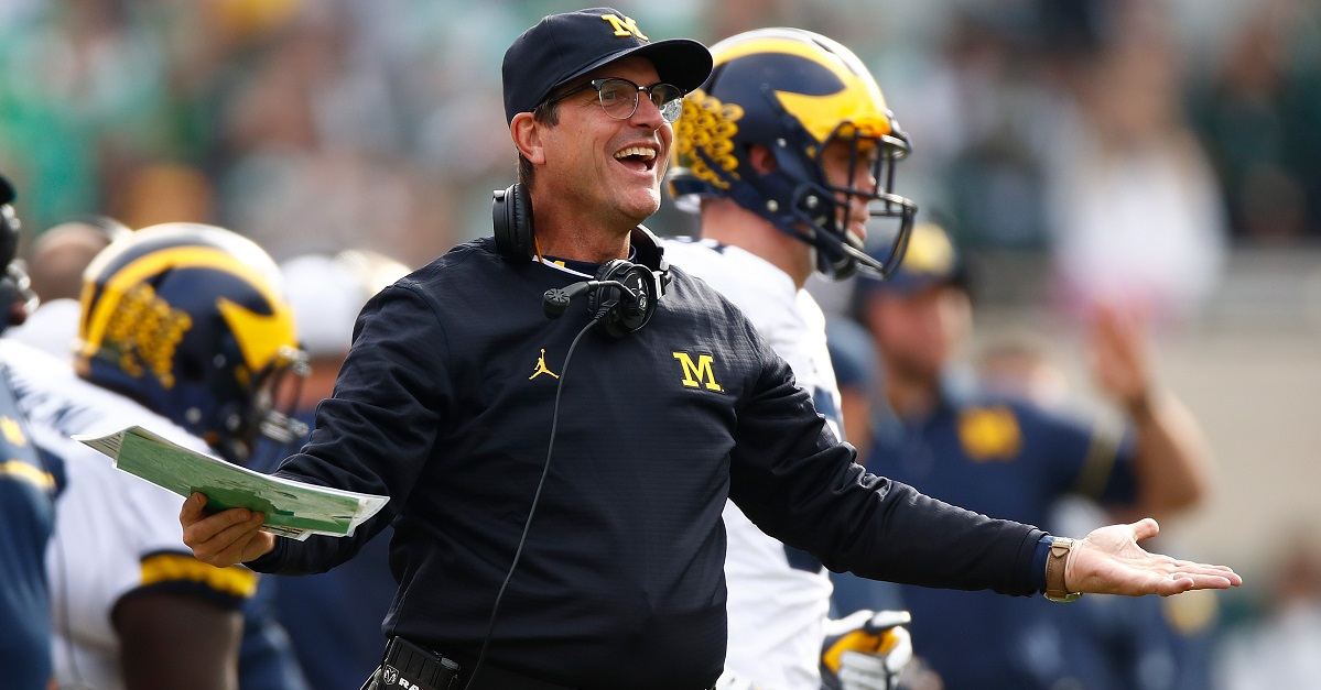 There's one coaching scenario that reportedly 'won't happen' with Jim Harbaugh any time soon