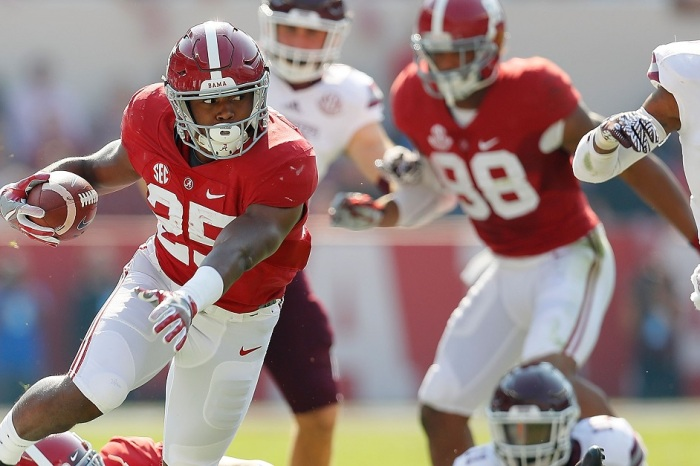 Alabama running back reveals he played through a broken ankle during majority of season